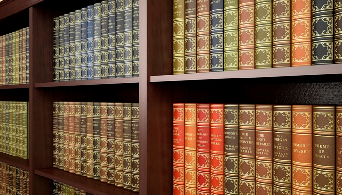 Many books which show the broad knowledge of the Gavel and Page construction lawyers.