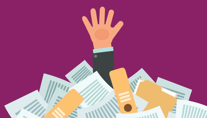 A hand reaching for the help of a Gavel and Page business lawyer after being lost in all the different contract needs of commercial law.