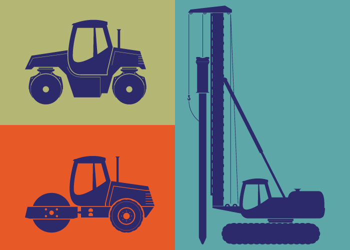 Examples of equipment that could be hired because of the clear descriptions in the Equipment Hire Agreement, made by a Gavel and Page construction lawyer.