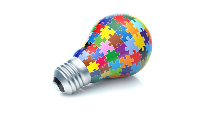 A lightbulb consisting all the considerations that are relevant while constructing a will